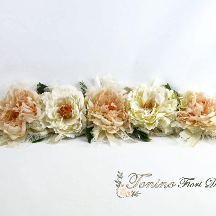 Treccia floreale