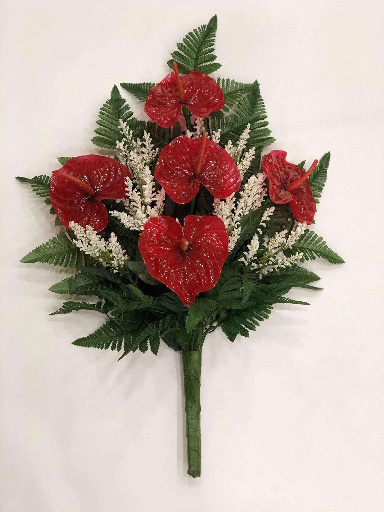 fiori vetroresina cimitero